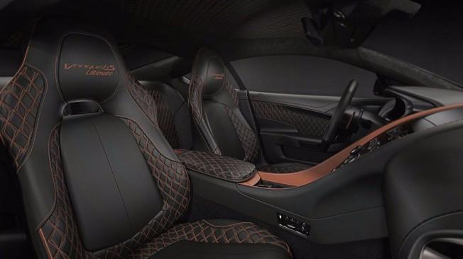 Aston Martin Vanquish S Ultimate - interior