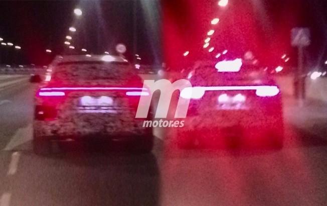 Audi Q8 2018 - foto espía posterior