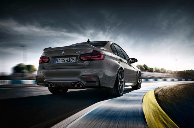 BMW M3 CS - posterior