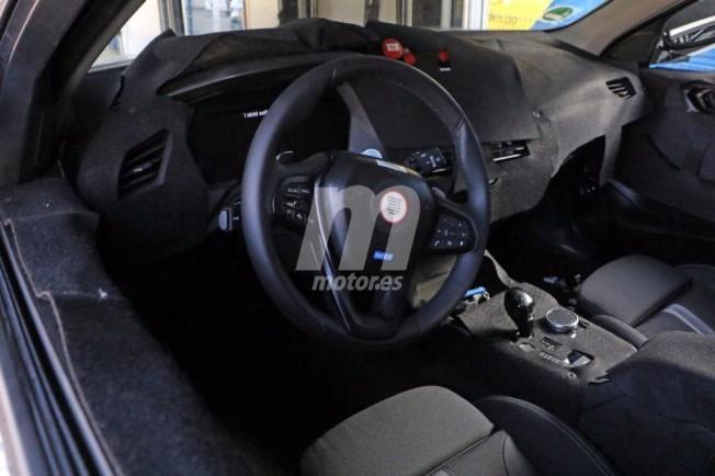 BMW Serie 1 2019 - foto espía interior