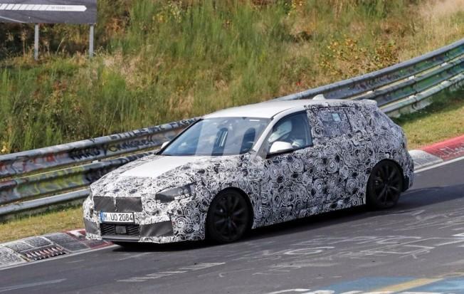 BMW Serie 1 2019 - foto espía