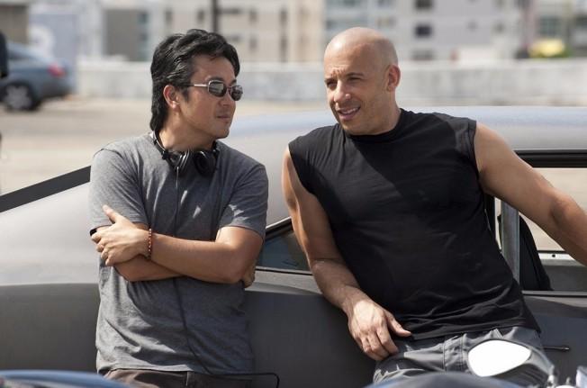 Justin Lin y Vin Diesel