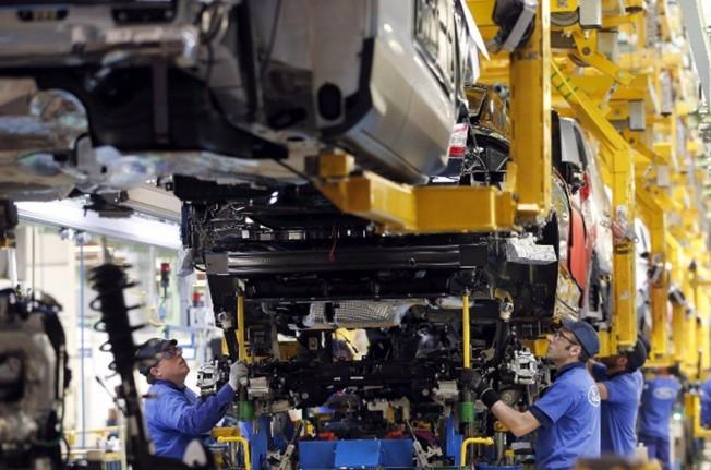 Producción de Ford en Almussafes (Valencia)