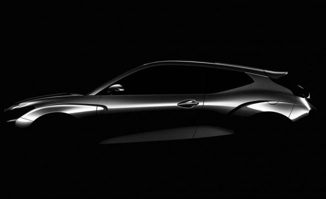 Hyundai Veloster 2018 - teaser