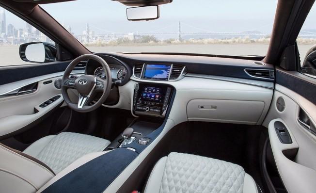 Infiniti QX50 2018 - interior
