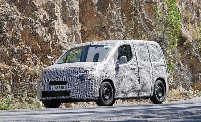 Citroën Berlingo 2018 - foto espía