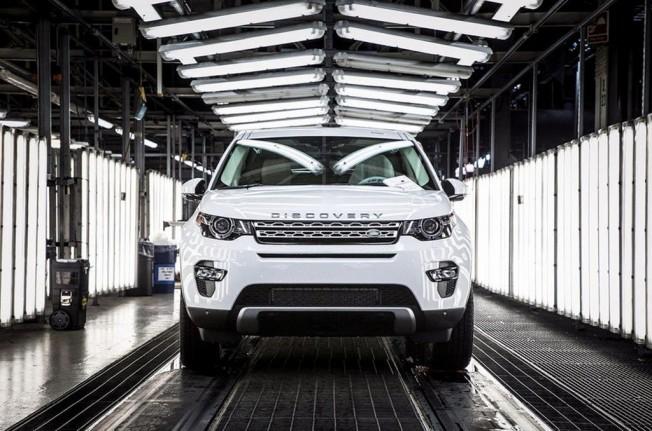 Land Rover Discovery Sport - producción