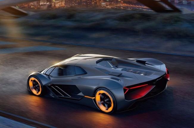 Lamborghini Terzo Millennio - posterior