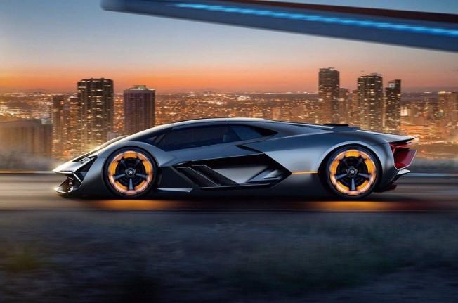 Lamborghini Terzo Millennio Concept - lateral