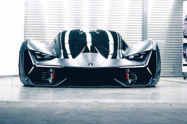 Lamborghini Terzo Millennio Concept - frontal