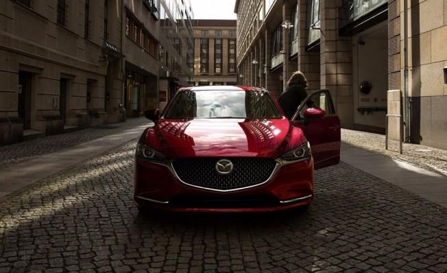 Mazda6 2018 - frontal