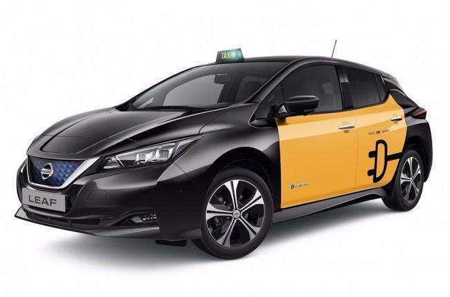Nissan Leaf 2018 Taxi
