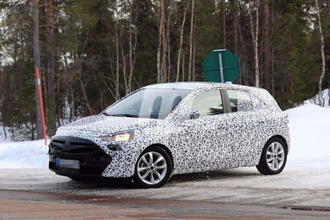 Opel Corsa 2019 - foto espía