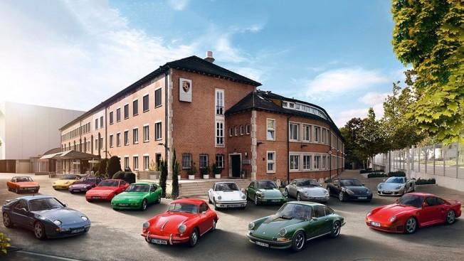 Coches clásicos de Porsche