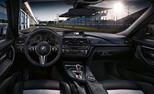 BMW M3 CS - interior