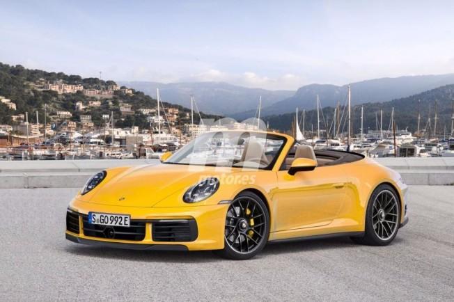 Porsche 911 Cabrio - recreación
