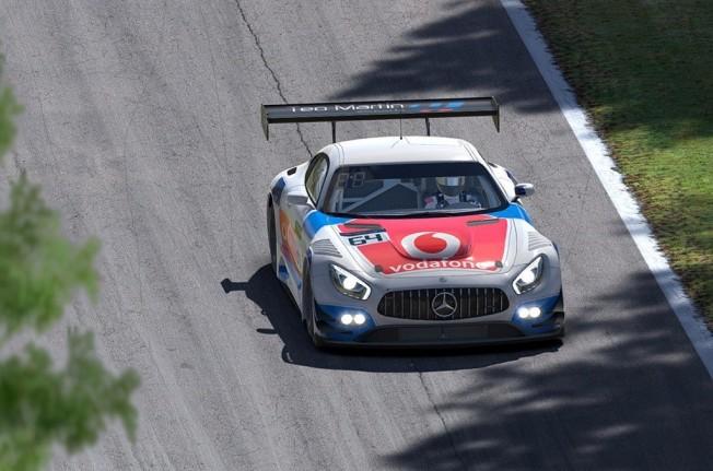 Teo Martín Motorsport y Vodafone España