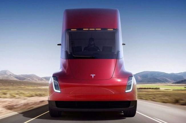 Tesla Semi 2019 - frontal
