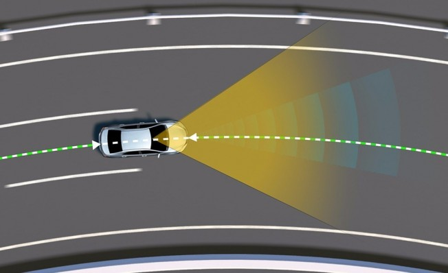 Toyota Safety Sense - Sistema de Mantenimiento de Trayectoria