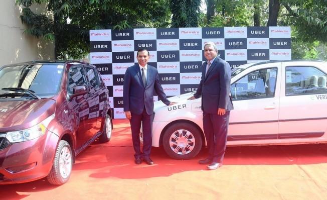 Uber y Mahindra acuerdo de colaboración