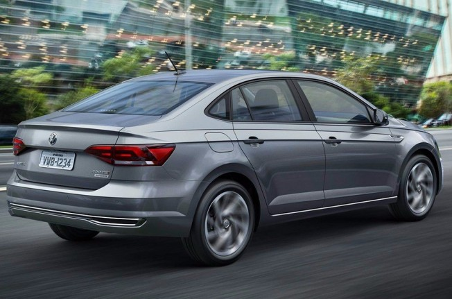 Volkswagen Virtus 2018 - posterior