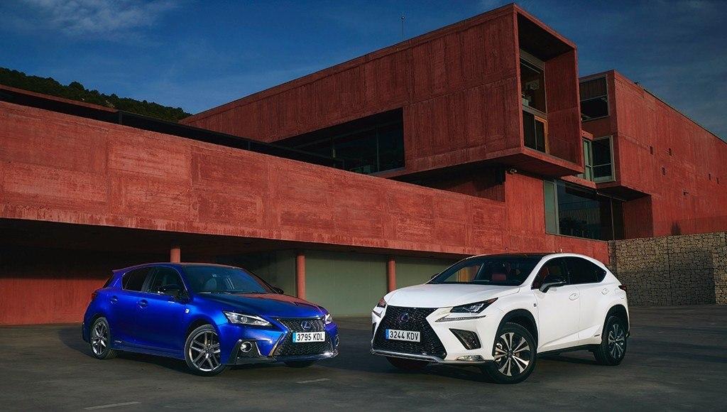 Presentación de Lexus CT 200h y Lexus NX 300h 2018, ligeros retoques