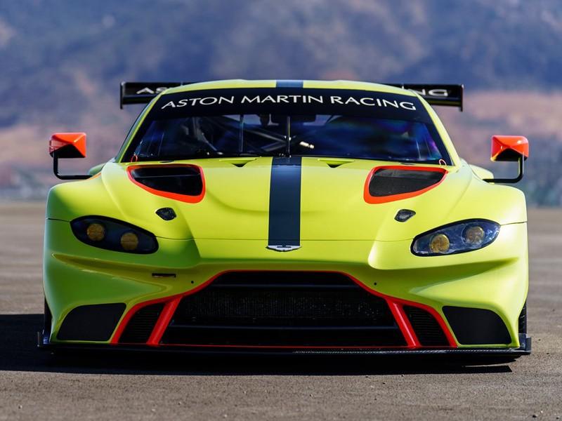 Presentado el brillante Aston Martin Vantage GTE 2018