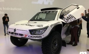 Dakar 2018: SsangYong Tivoli DKR, una nueva bestia