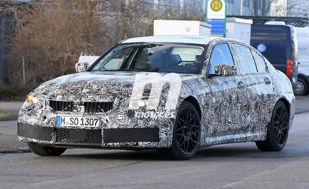 El nuevo BMW M3 2019 se deja ver a plena luz del día