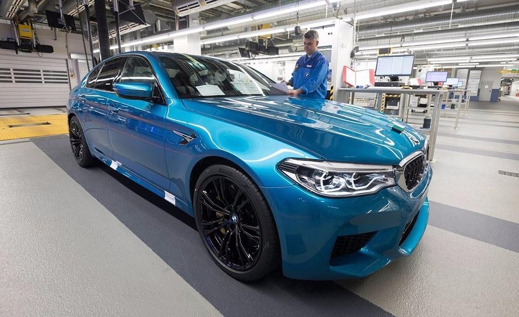 Arranca la producción del nuevo BMW M5 2018 en Alemania