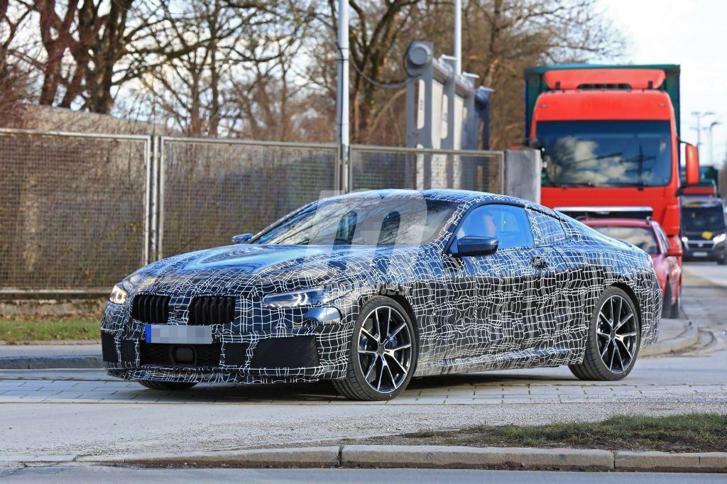 BMW Serie 8 2019: la versión M850i al detalle en nuevas fotos espía
