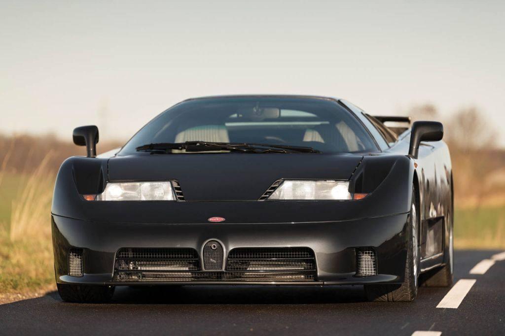 Raro ejemplar del Bugatti EB110 GT con homologación USA a subasta