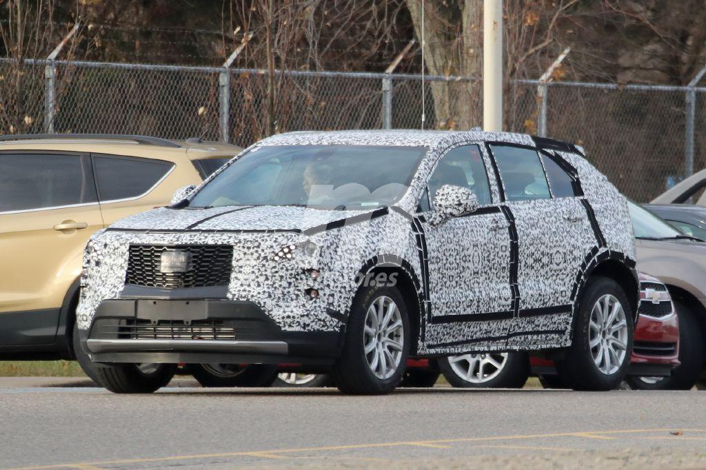 El Cadillac XT4 nos muestra su parrilla definitiva por primera vez
