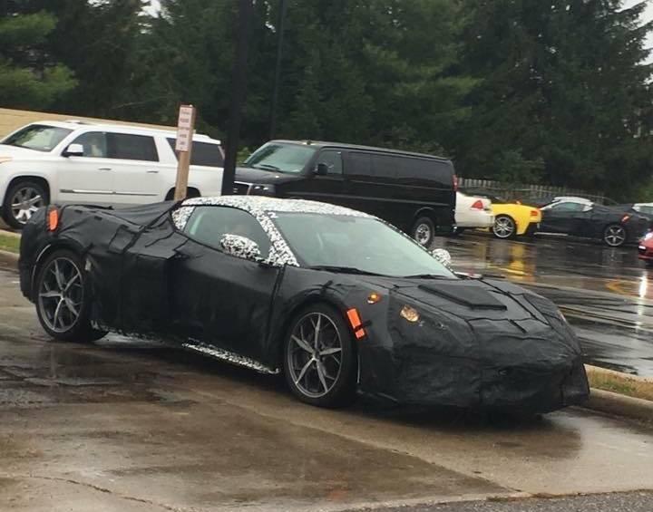 General Motors confirma que los planos filtrados del Corvette C8 son suyos