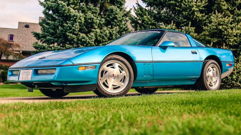 El prototipo del Corvette ZR-1 descubierto abandonado en un desguace