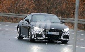 El Audi TT actualizará su imagen en 2018 con ligeros cambios