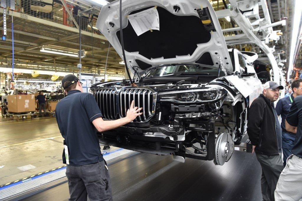 BMW X7: las primeras unidades de pre-producción salen de Spartanburg