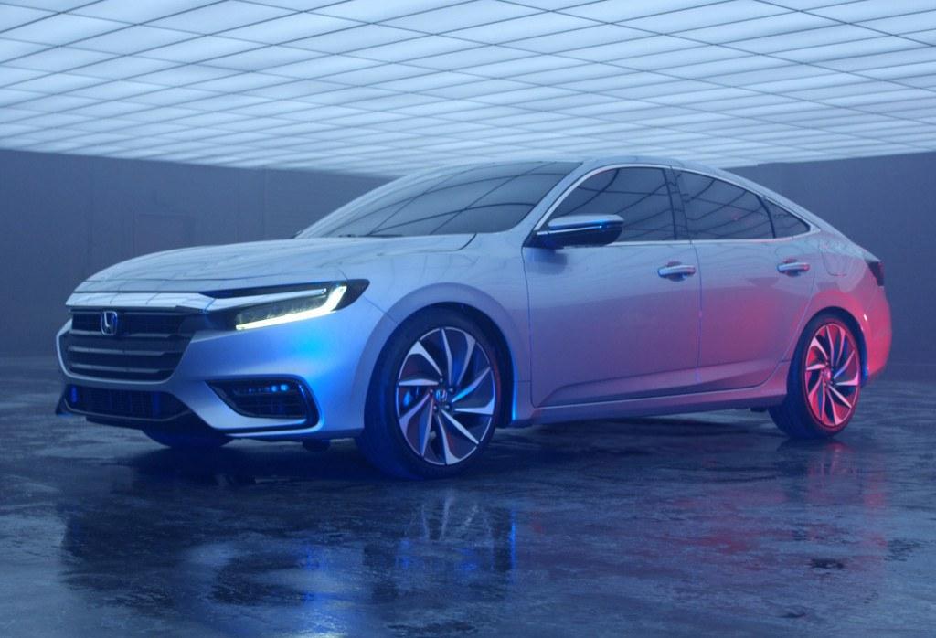 Honda revela el nuevo Insight prototype 2019 antes de Detroit 2018