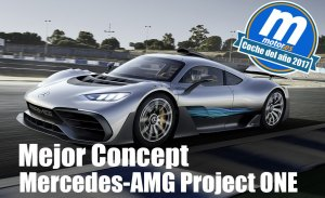 Mejor concept 2017 para Motor.es: Mercedes-AMG Project ONE