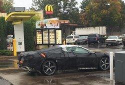 Los primeros elementos del Corvette C8 filtrados en imágenes CAD