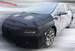 La versión de producción del Chevrolet FNR-X cazada en China