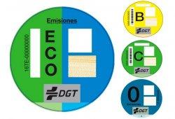 Cómo conseguir las etiquetas medioambientales de la DGT