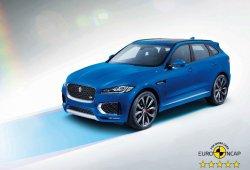 El Jaguar F-PACE se suma a la categoría de las cinco estrellas de Euro NCAP
