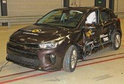 El Kia Stonic, con cinco estrellas Euro NCAP montando sistemas de asistencia