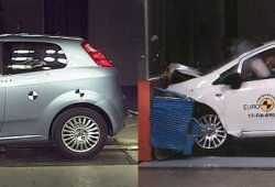 ¿Es el Fiat Punto tan inseguro como dice EuroNCAP?