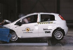 El Fiat Punto obtiene cero estrellas en las pruebas Euro NCAP