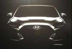 Filtrado el diseño del nuevo Hyundai Veloster a unas semanas de su debut en el Salón de Detroit