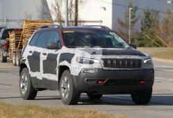 El nuevo diseño del Jeep Cherokee al descubierto