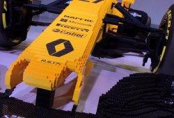 LEGO y Renault crean el RS17 de Fórmula 1 a tamaño real