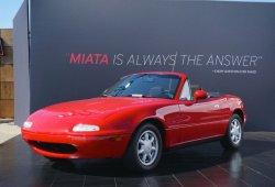 Mazda presentará los primeros MX-5 de su programa de restauración en Japón